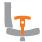 Кресло геймерское Hexter (Хекстер) XL BLACK/GREY - фото arm_72.jpg